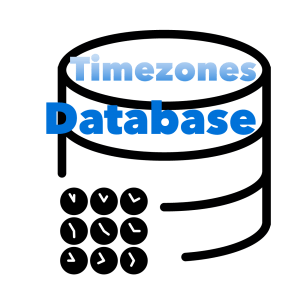 Timezones database